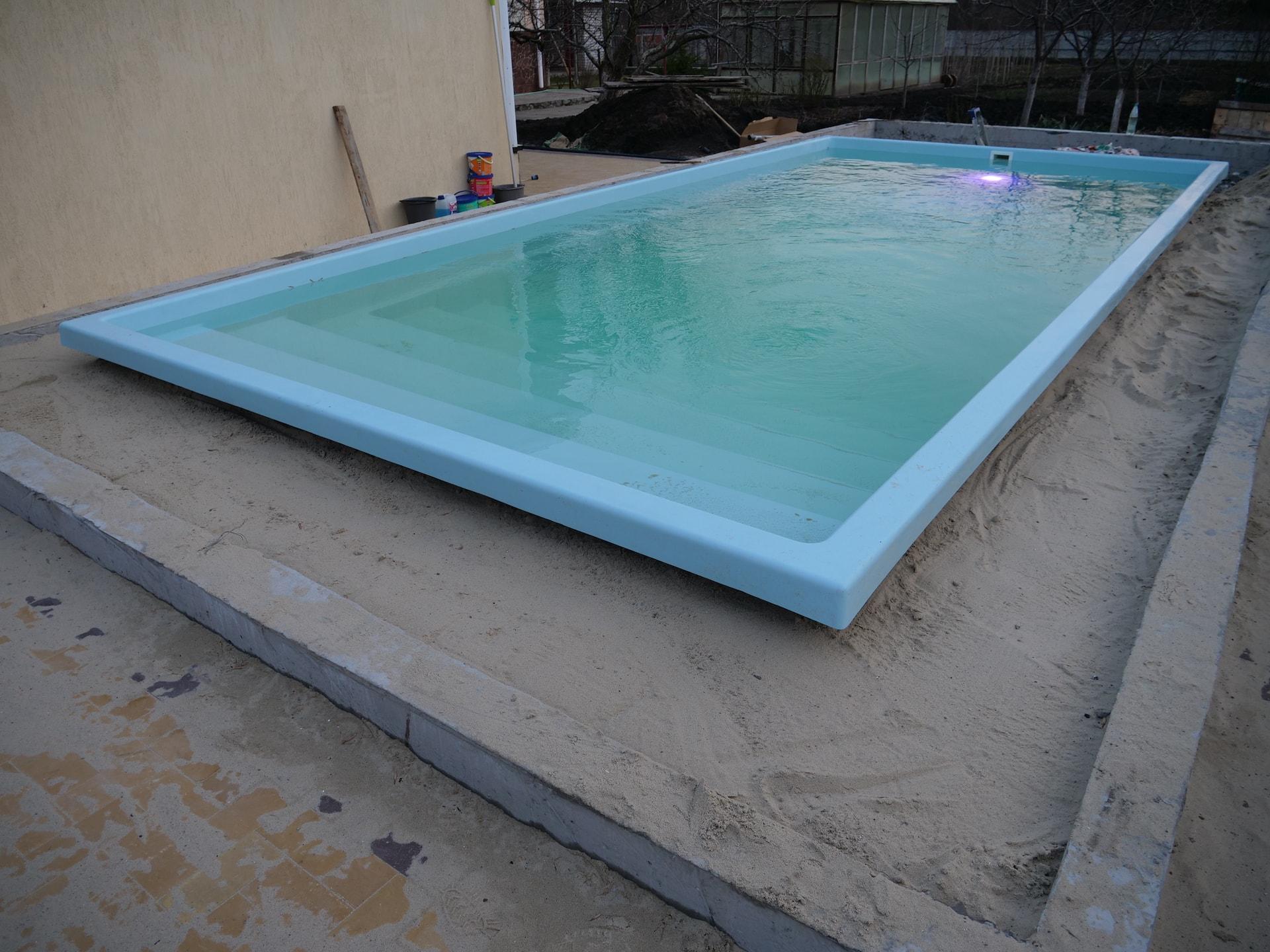 Бассейн из композита 7,6 метров