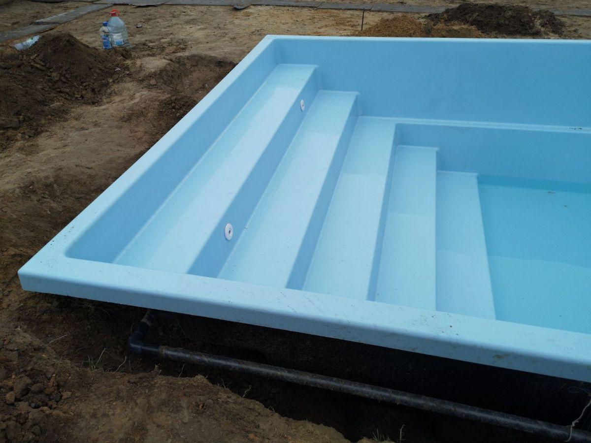 Композитный бассейн Оазис 7,6 метров