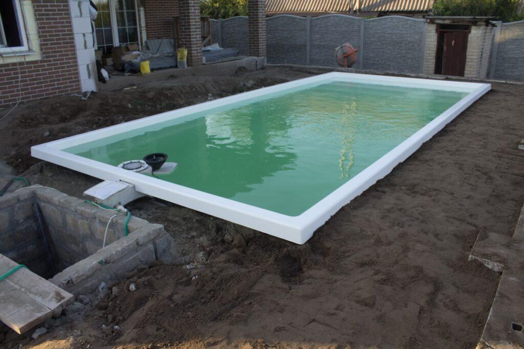 Бассейн из композитного материала 7,6 метров