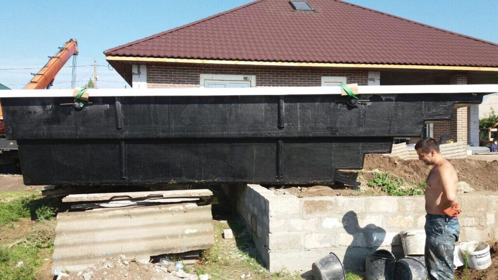 Доставка бассейна в Запорожье