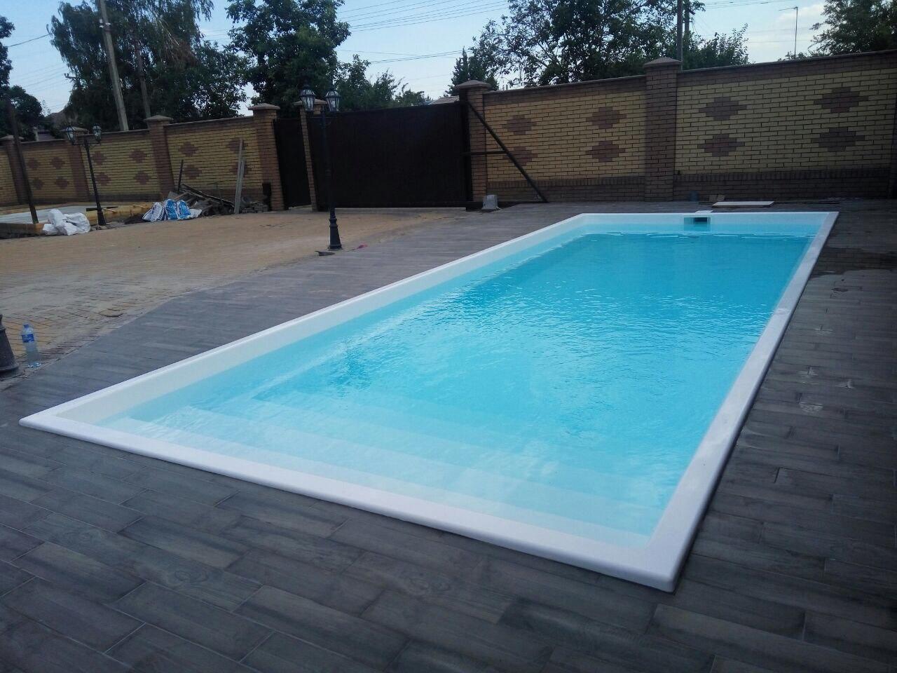 Готовый бассейн Оазис 9 метров