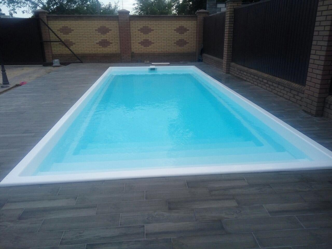 Оазис 9 метров бассейн